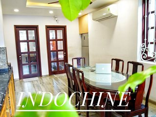 CENTRAL BEN THANH☘GROUP 5☘2BR☘BOUTIQUE INDOCHINA║ AT HIDEOUT CITI HOUSE VILLA