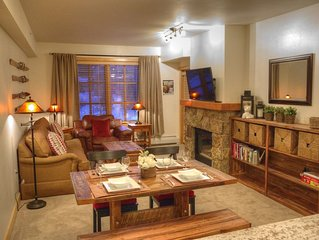 One Bedroom with Mountain Views in Prime Center Village Location Sleeps 6!