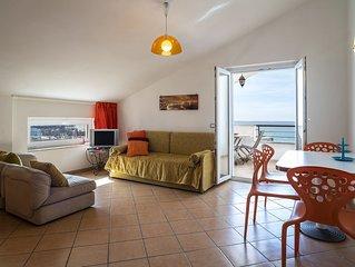 Apt Topazio - Villa Preziosa, sea front with terrace