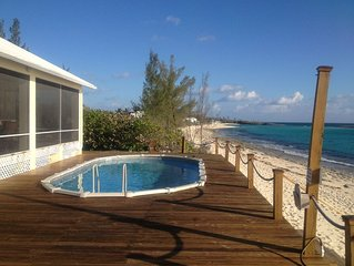 Bella Mare' | Bahamas Oceanfront Rental with Fresh Water Pool