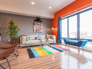 NEW AMAZING 2BR PENTHOUSE- 10 MINS to TIMES SQUARE