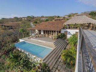 Nicaraguan Charm in Luxury Living, Walk to Town or Beach