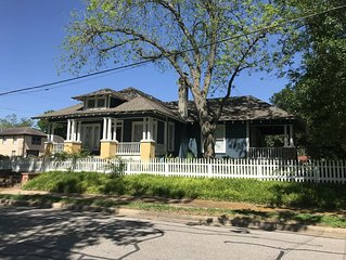 A beautifully updated Craftsman cottage close to downtown Brenham