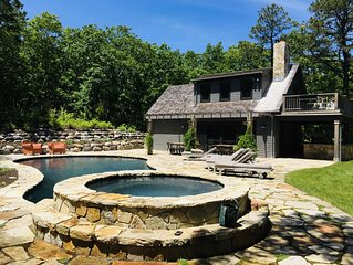 Watermill home on 5 acres, Available July 4th