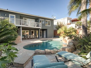 Steps to the Sand - Charming Beach Bungalow with Pool!