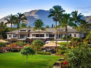 Westin Princeville Luxury Two Bedroom Villa. All weeks, best rates! Reserve now!