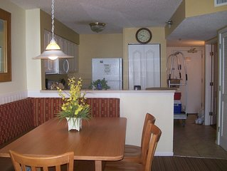 Beautiful 2 bedroom , 2 bath Oceanfront or Bayfront condo