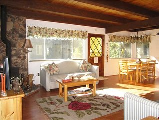 Cozy Tahoe Cabin Steps Away from a Meadow, Hiking and Bike Trails (ST25)