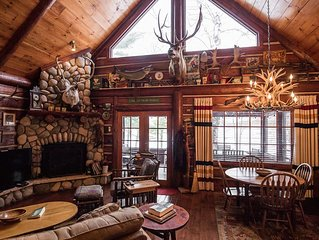 Rustic Luxurious Log Cabin on Magestic Round Lake in Richardson Bay Cabin 7