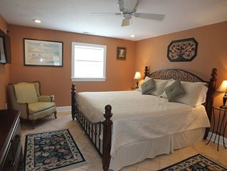 BEACH GETAWAY W/ JACUZZI TUB & GAME ROOM ***CENTRALLY LOCATED*** SPACIOUS ROOMS