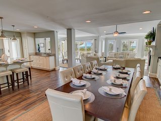 $1k OFF! 'Barbados' on Isle of Palms~ OCEAN FRONT, PRIVATE POOL, ELEVATOR, FIRE