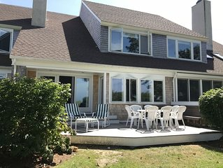 Beautiful Beachfront 3bdrm In Sears Point On Cape Cod Bay!