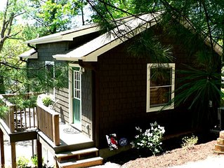 Lake Lure Rental: Romantic Lakeside Getaway Cottage