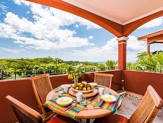 ** Ocean / Golf View 3 Bedroom, 2 Bath **  Reserva Conchal