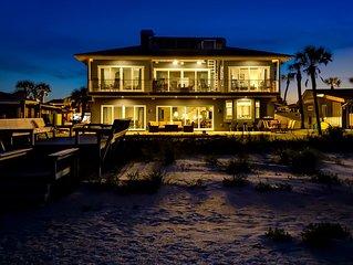 Oceanfront  7 Bedroom  6,000 sqft Oasis 3 doors from the Ponte Vedra Club!