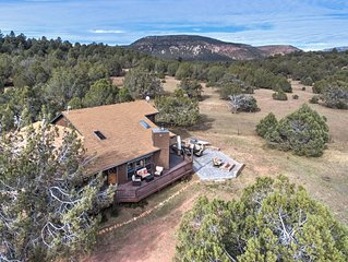 NEW! Payson Ranch on 4 Acres- Backing to Tonto National Forest!