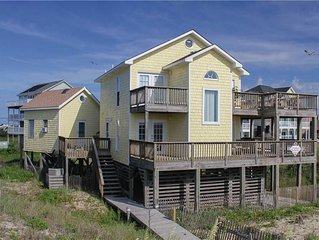 Beachfront location w/ lots of outside living, HotTub, RecRoom, PetFriendly