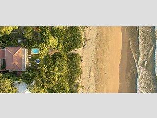 Casa Mirage,  Fabulous Oceanfront Location in Playa Grande.