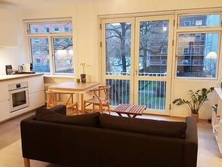 Downtown, Quiet & Charming Copenhagen apartment
