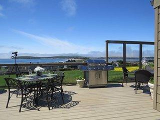 Romantic-180° Water Views Pt. Reyes-Bodega Bay, Spa-FP-Quiet-Wildlife-Beach-Golf