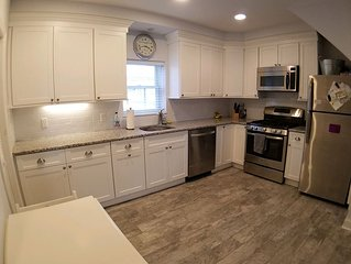 Totally Renovated 2BR - steps to beach - Available for Month of August
