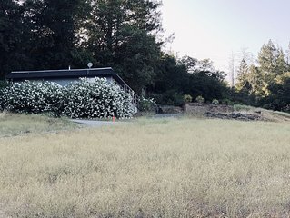 Great cabin located in the middle of wine country,  St. Helena & Calistoga