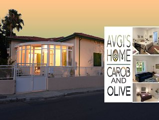 'CAROB & OLIVE APARTMENTS' at 'AVGI'S HOME'