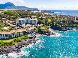 Beautiful 4 brs for 10 oceanfront villa!  Stunning ocean views!