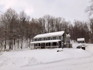 Hylan House in Hunter: Ski and Hike Through History