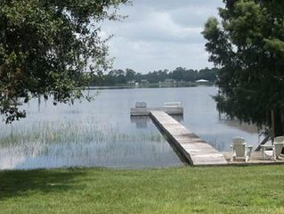 3/2/2 Lake House Seasonal Rental. Approx 1800 living sq ft. Fishing and Boating.