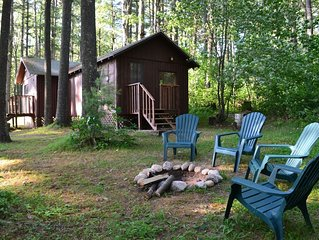 Spruce - Fisherman and Family-friendly Cabin on the shore of North Trout Lake.