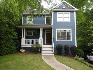 Candler Park 3 Bedroom Home Family Friendly Close To Restaurants, Bars And Parks