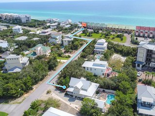 Clareon By The Coast - Seacrest home with a Private Pool and 3 Bikes!
