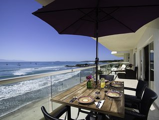 Playa Punta Mita! Amazing Upper Floor Views!! Beach Front Paradise!