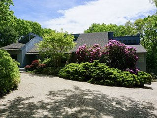 East Hampton Beauty,  Newly Renovated, 4BR Contemporary all with Ensuite Baths!