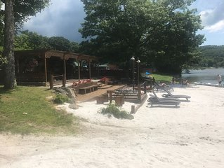 Swimming, Hiking, S'mores making Family Adventure Preview 10 min from Sugar MTN