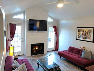 5 Star Accommodations! 3 BDRMS, 2 BA, 2 TV, CABLE, CLEAN & COMFORTABLE
