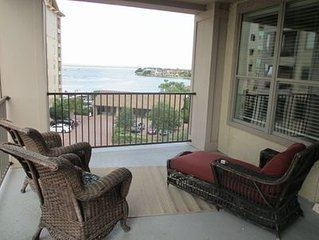 Relax on the balcony and enjoy the serenity of Lake LBJ