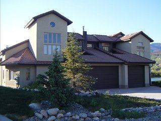 Spectacular Lakefront Ski Home!  Don't Miss!