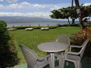 MAK-A3 - South Maui Beachfront Condo on Sandy Beach; Awesome Views; 2BR/2BA; Sle