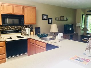 Walk to the Slopes from this Spacious Townhome at Hidden Valley Resort