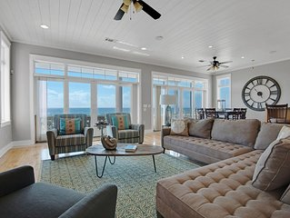 5 Bedroom Gulf Front Home With Two Master Suites! (sleeps 16) - Incredible!