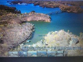 Lake Front -  Browns Bridge- 3/2 w/ Dock, Pets, *WiFi * the dock !!
