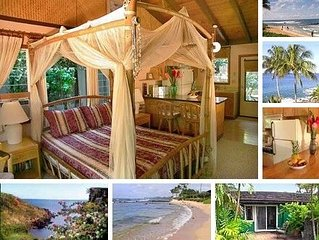 Tropical Cottage in Poipu Beach!
