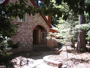 Beautiful Mountain Home Surrounded by Evergreen Trees on 5 Acres of Land.