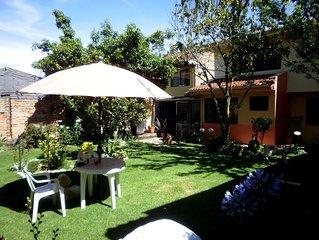 Casa Bella Mia. This Inviting, Spacious Flat With Lush Garden Awaits You!