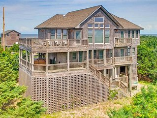 Conveniently Located. Oceanview, Avon w/ Elevator, Cmty Pool, Hot Tub, Game Room