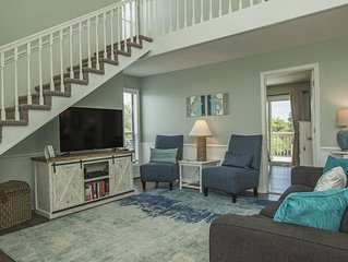 Saltwater Gospel: 3 BR / 2 BA home in Oak Island, Sleeps 8