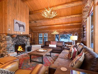 A picturesque cabin tucked into the peace of The Aspens