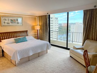 2 Bedroom 2 Bath Waikiki Vacation Rental With Partial Ocean Views!